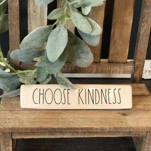 Rae Dunn CHOOSE KINDNESS Plaque